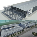 Pre-engineered Low Cost Steel Structure Warehouse