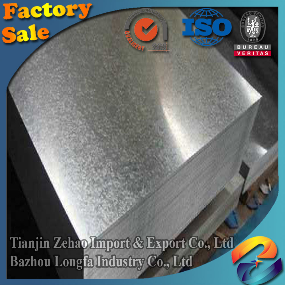GI sheet/coil/Galvanized Steel Plate/Zinc coating 30g 60g 100g 120g