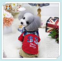 2015 High quality Winter pet Clothes,Thicken the cat and dog clothes