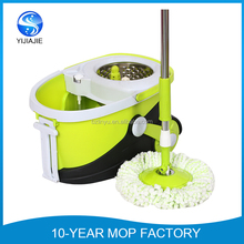 hot selling stainless steel basket microfiber spin mop with factory price