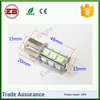 Super bright T20 T25 S25 5050 p21w18SMD Auto light Car Turn brake lamp ,car strobe light