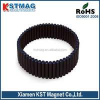 Cylinder permanent neodymium magnets coating epoxy for motor