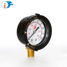 China Low Price Plastic Case Swimming Pool Pressure Gauge for Keeping a Suitable Water Level