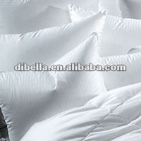 white solid color cotton down proof fabric