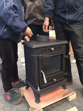 Small Quality Cast Iron Wood Burning Stove for sale