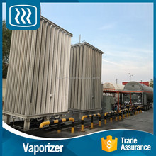 Factory low price liquid nitrogen gas vaporizer industrial liquid oxygen air ambient vaporizer