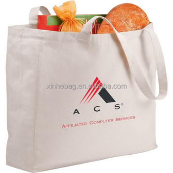 Organic recyclable shopping cotton bag