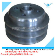 Engine E200B water pump crankshaft pulley (small) spare parts used for excavator diesel