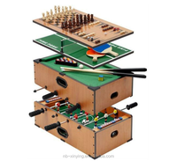 Hot selling Sport toy 5 In 1 multi-functional table game with Pool Table Factory Wholesale Price