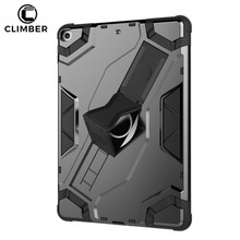 2018 Hot Sale Dual Layer Defender Smart Stand Back Cover For iPad 2017 Case Accessories,For iPad 9.7 Case