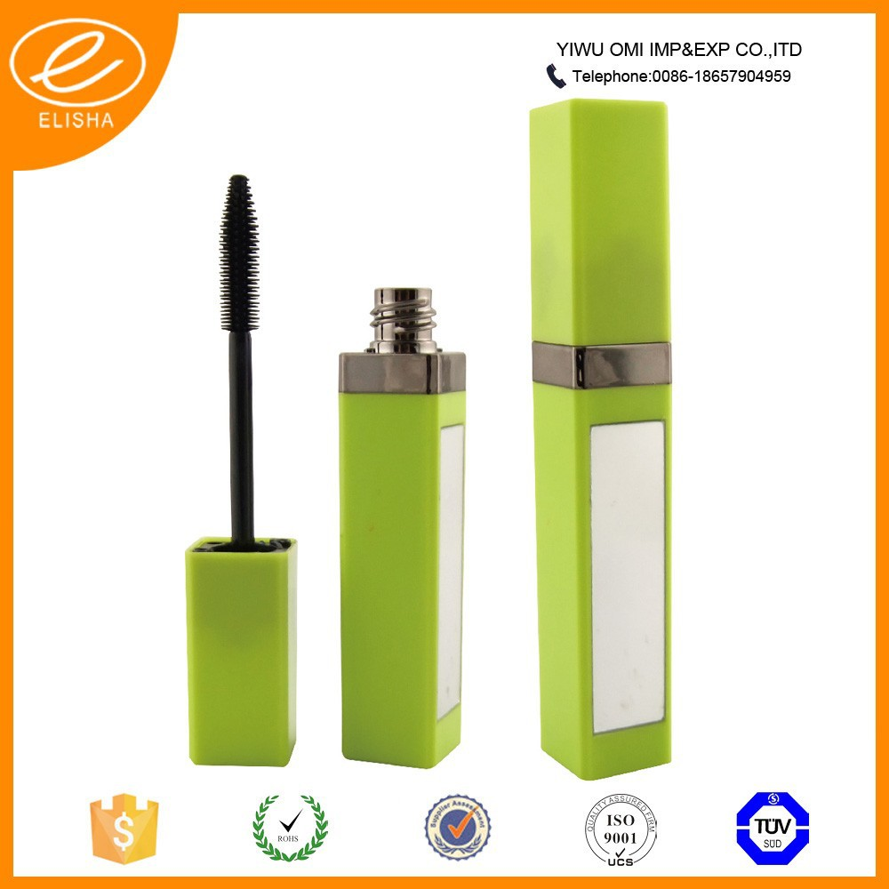 Fashion Lip Gloss Packaging Sexy Girl Cosmetic Tube with Mirror