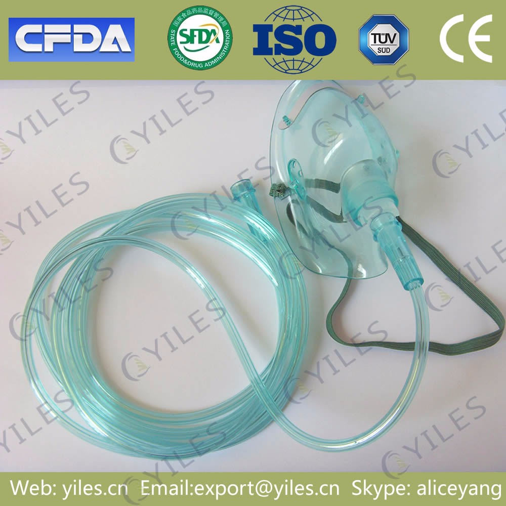Medical consumable chemical multi-vent oxygen mask for respirator