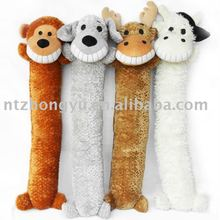 squeaky plush pet product lovable animal dog toys made in China
