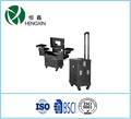 professional trolley makeup case and cosmetics case with trolley