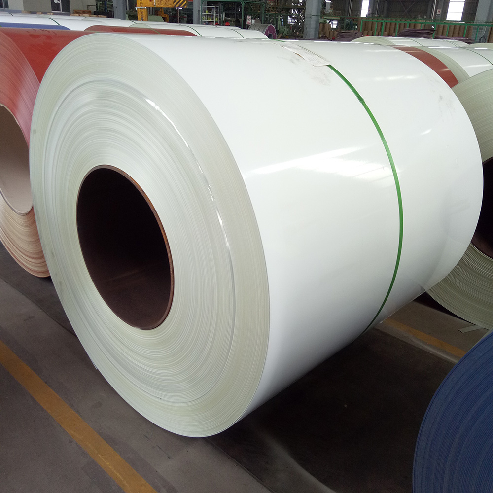 Cheap prepainted white color cold rolled steel coil from china