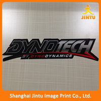 Digital printing self adhesive glossy pvc die cut car stickers