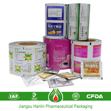 customized thickness and printed food plastic packaging film