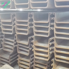 2017 hot sale low price u type size of steel sheet pile