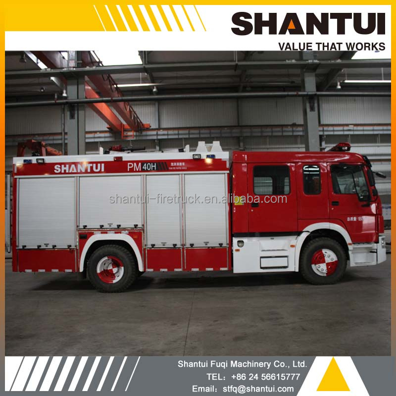 Water tender, PM40H foam tank fire fighting truck