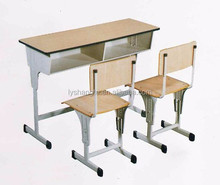 Wholesale Cheap Modern Wood Top Metal Material Library Read Tables