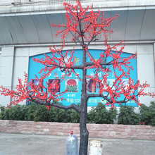 Artificial faked tree trunk christmas iron decorative sleigh