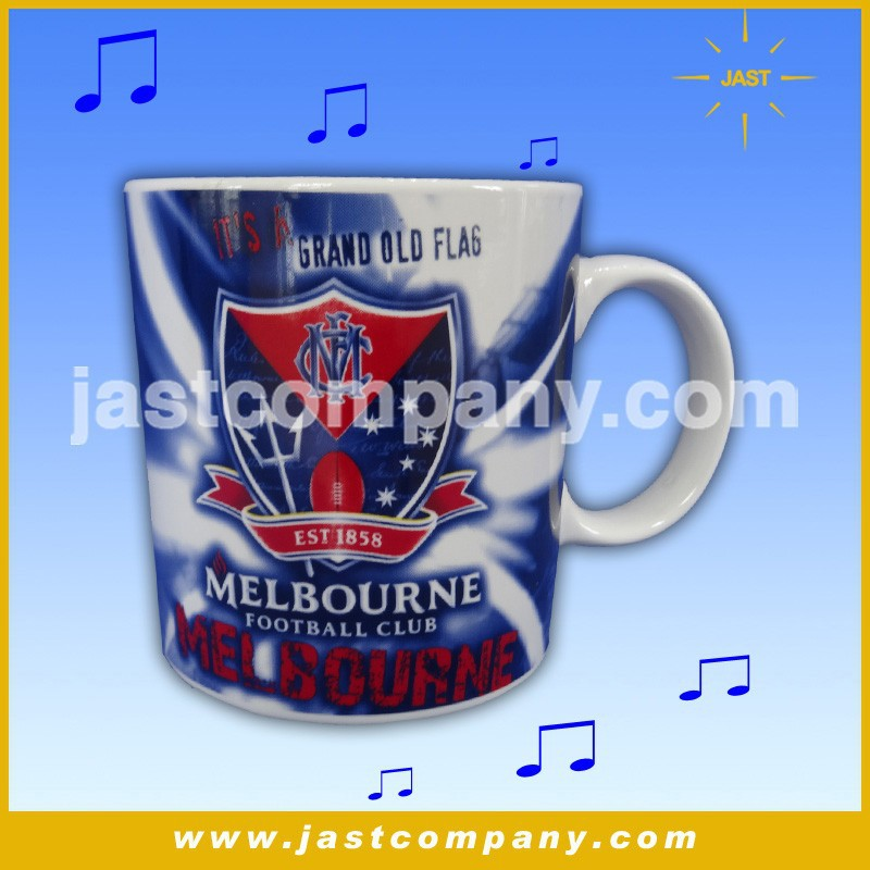 Best price top grade new design custom logo and sound stainless steel magic mug ceramic with patent