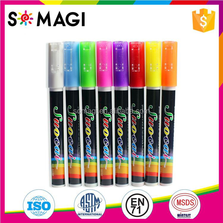 Amazon Best Seller Chalk Marker /Non Toxic/ Safe for Kids/8-Color/Customized.
