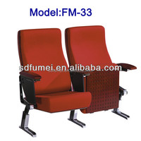 FM-33 Fabric cover folding furniture used church chairs sale