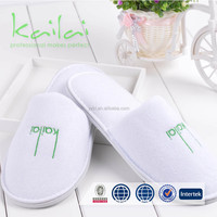 Eco Friendly one time use hotel slippers/Logo Printed Customized Promotional Hotel Slipper