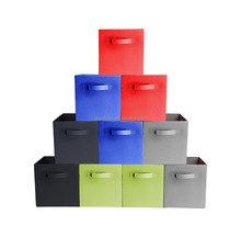 Household Organizer Home Decorative Closet Foldable Storage Cubes For Shelves,Collapsible Box,Toys Storages Drawer