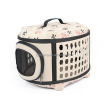 Factory Fabric Soft Sided Airline Approved travel Cat Dog Pet carrier EVA Bag