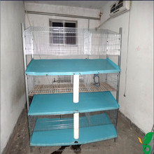 3 tiers portable rabbit cages rabbit keeping equipments for sale