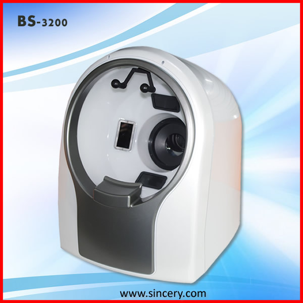 3D portable face scanner analyzer machine for beauty