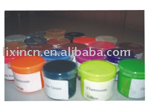 silicone colour