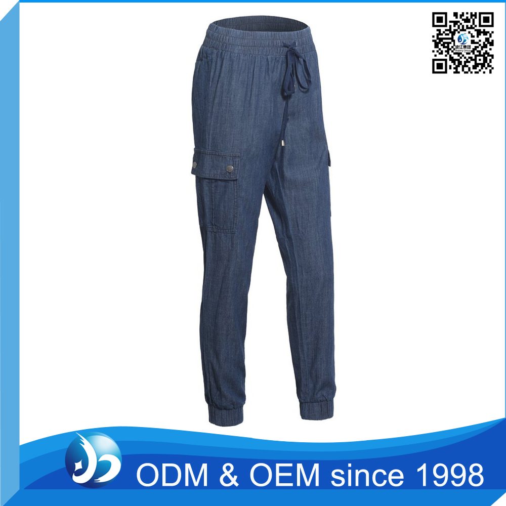 Customized Linen Trousers Pants Designs For Women