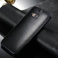 PU leather case for htc one 2 m8,protective case for htc one m8