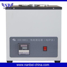 four sample determinations concurrently Electric Furnace Method Carbon Residue Tester