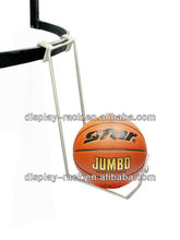 metal supermarket basketball ball display stand HSX-DR0322