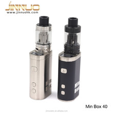 Japan version cheap vapor kit min box 40w VW, TC mod with 20400 battery