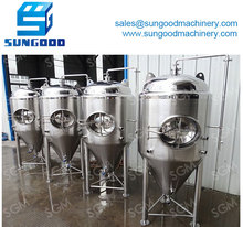 3bbl Glycol Jacket Conical Fermenter/Cooling Jacket Conical Fermenter