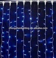 decorative string wedding curtain lighted