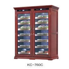 large capacity 600L wooden electrical cigar cases / cigar cooler/ cigar humidors