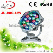 18*1W IP68 color changing led swimming pool lights,LED Fountain Lights,led underwater lights