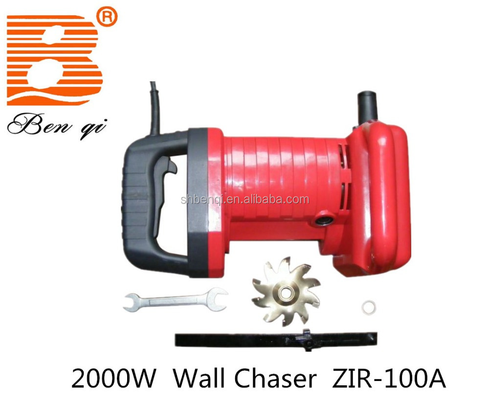 2000W power groove-cutting machine / wall chaser