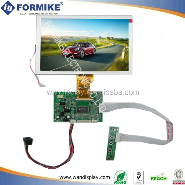 Color TFT LCD with T-Con board & driver board