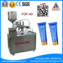 Cosmetic Plastic soft Tube Filling Sealing Machine bb cream filling sealing automatic viscous liquid filling and sealing machine