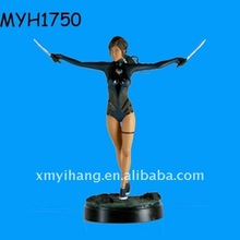2012 new fashion resin sexy action figure