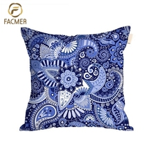 Latest designed indian kilim style ethnic custom printing seat throw cushion cover for home decoration