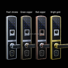 Household smart electronic fingerprint intelligent door lock
