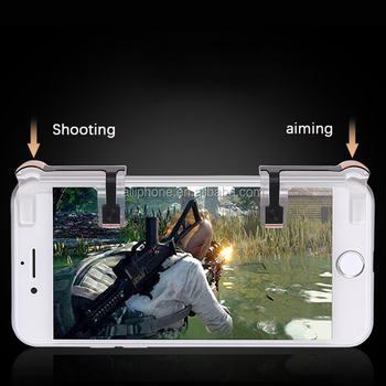 Newest C9 PUBG fire key Mobile Game Shooter Controller Fire Button Aim Key Smart phone Mobile Gaming Trigger L1R1